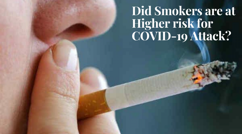 Did-Smokers-are-at-Higher-risk-for COVID-19-Attack
